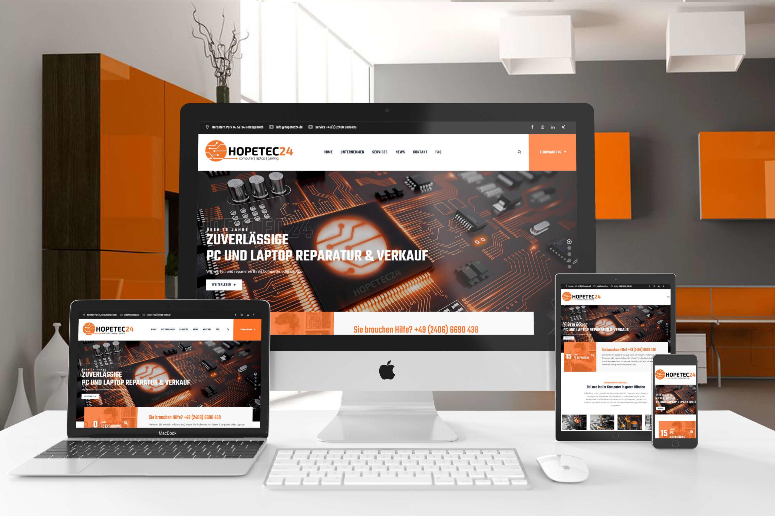 hopetec24 Website