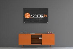 hopetec24 Acrylschild