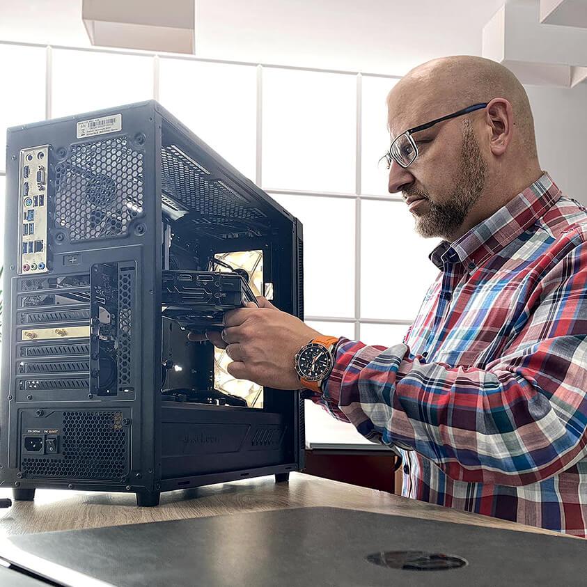 hopetec24 PC Reparatur Werkstatt